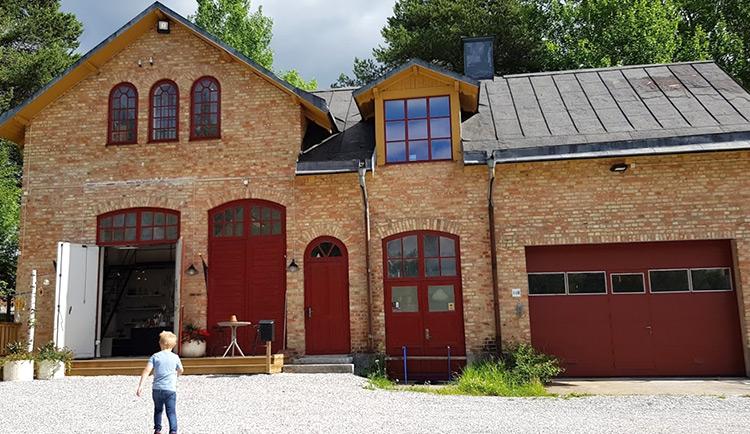 Heta hyttan glasbruk i Piteå